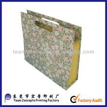 expandable and portable file folder holder