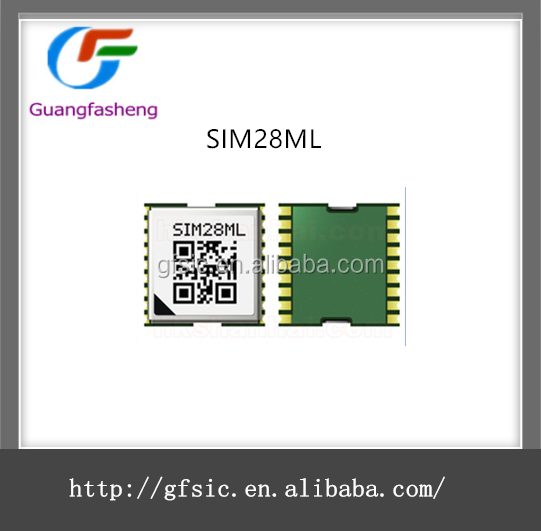 New low power gps module SIM28ML Electronic component of gps gsm module