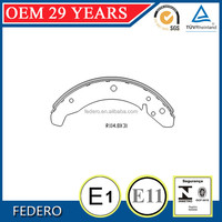 China cheap rear brake shoes factory for VM