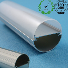 Professional Enterprise led tube cover extrusion for t8 housing with top quality