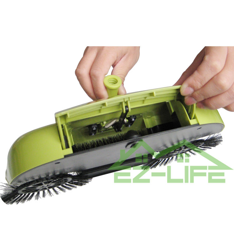 Zhejiang wenzhou Best Cordless 360 degree rotate easy home rechargeable cordless sweeper