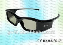 hotsale USB rechargable Cinema Use Shutter 3D glasses