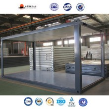 Creative 20ft Flatpack China Prefabricated Assembly Temporary Bunk House Container
