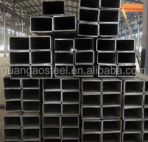China Thin wall Rectangular welded stainless steel pipe 201 with hign Quality
