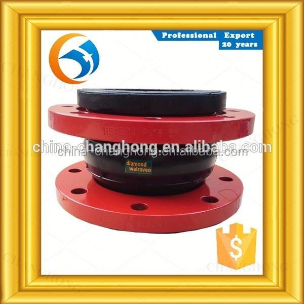 DN65 connector din standard pn16 single ball expansion joint price
