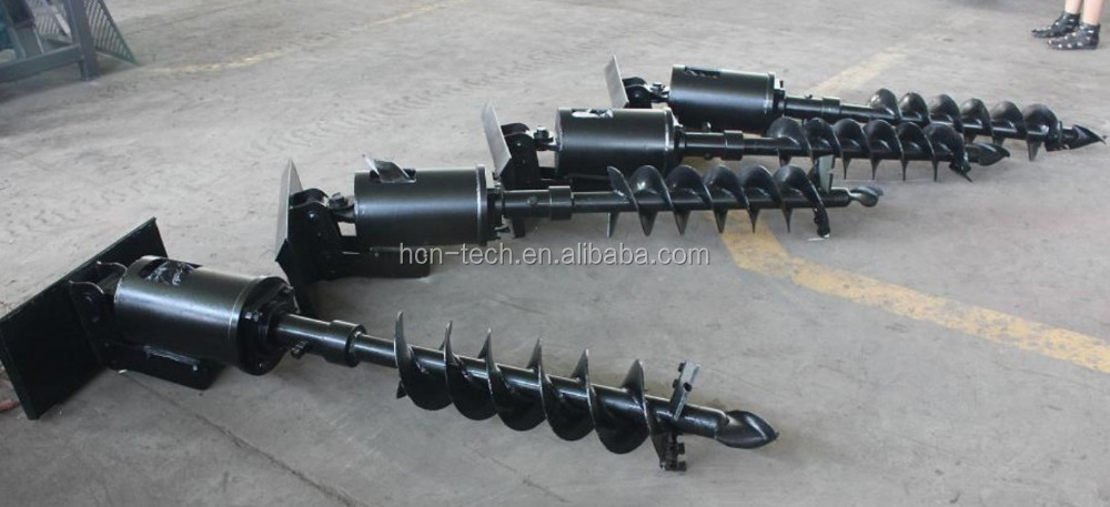 xuzhou HCN 0510 front end loader bobcat auger parts