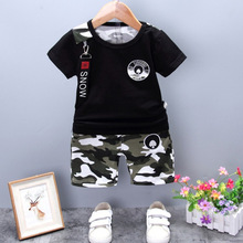 Printed Camo summer Kids Clothing Boys Clothes <strong>Children</strong> Clothes <strong>Set</strong> Kids Clothing Boys <strong>Set</strong>