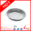 9 inches round one-off environmental protection aluminum foil container
