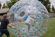 innovative design inflatable toy zorbs giant human mechanical zorb grass zorb ball