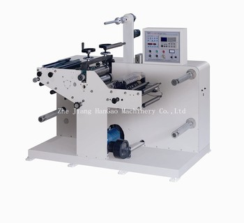 320Y Lable slitting machine with rotary die cutting machine from Ruian
