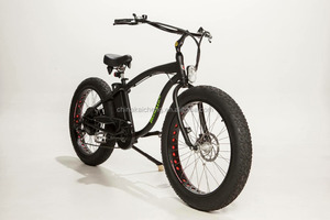 LOHAS/OEM 2016 Newest fat tire electric mountain bike/2*350W motor double drive electric bicycle /electric fatbike