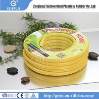 Working pressure 5-12bar industry rubber flexible water garden hose