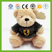 Wholesale mini teddy bear plush toy with knitted sweaters