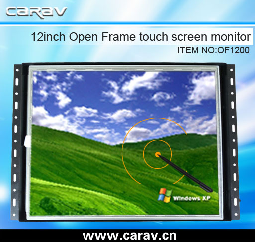 12 inch two pints Carav Open Frame Touch Monitor with handwriting for ATM, VTM, Interactive Kiosk, Gaming, HMI