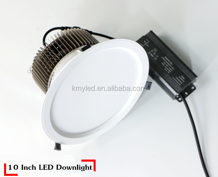 120lm/w high brightness warm white Round LED Shop Lighter 40 watt 50W led downlight led