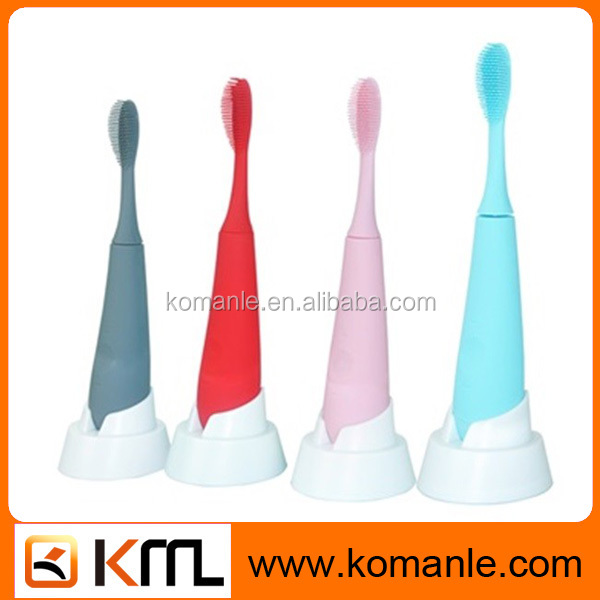 2016 hot sale toothbrush manufacturer,rubber bristle toothbrush