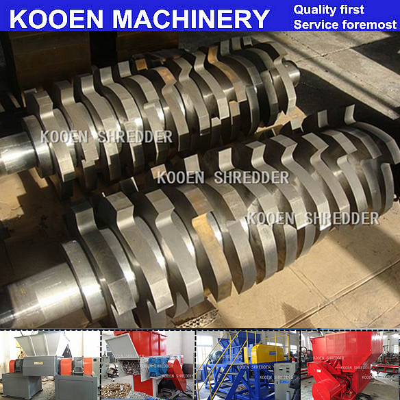 KOOEN Steady working plastic pe pp film shredder