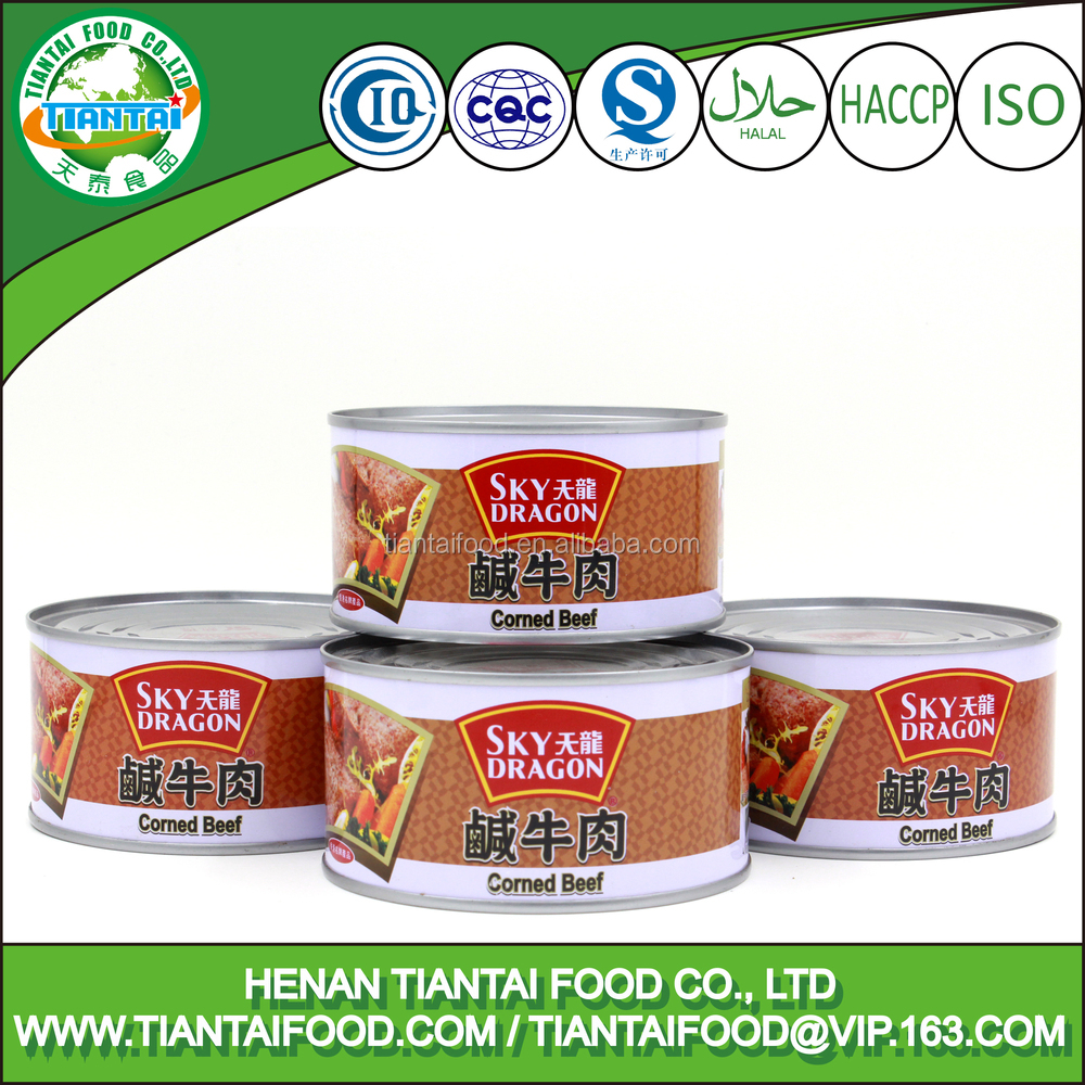 fast food specification for canned corned beef 340g