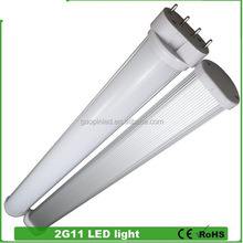 Various styles crazy selling 3 years warranty 2012 10watt led tube lamp 2g11