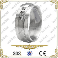 Shenzhen CZ Stone stainless steeel ring jewelry wholesale jewelry in malaysia