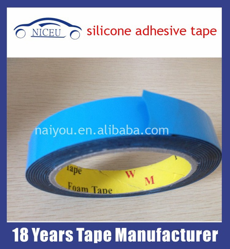 Polyester film Double-sided silicone adhesive tape