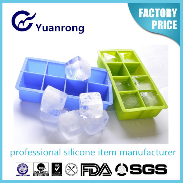 Bars and Home Party Used Silicone Ice Cube Trays