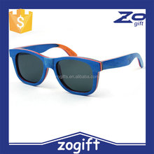 ZOGIFT 2016 handmade sun glasses wood and bamboo sunglasses