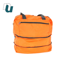 New Design Casual Carrying Unisex Accessory Bag with Expandable Fashion Nylon Travel Bag For Man
