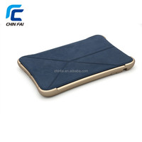 High Quality Shockproof Tablet Case with Wakeup and Sleep Flip For Ipad Mini 1/2/3 Removable Leather Cover with Silicone Case