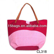 2012 trendy fancy good popular popular canvas bag
