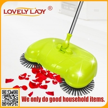 Best selling no electricity hand push broom automatic floor cleaning mop