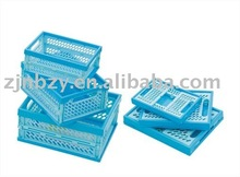 3 collapsible plastic container/box/bin/cases