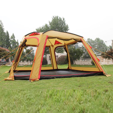 double layers big camping tent,large luxury camping tent