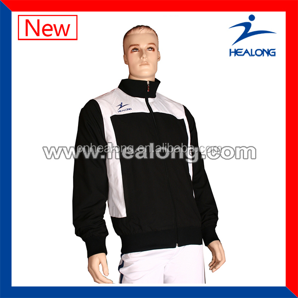 High Quality Black And White Jacket,Men'S Jackets