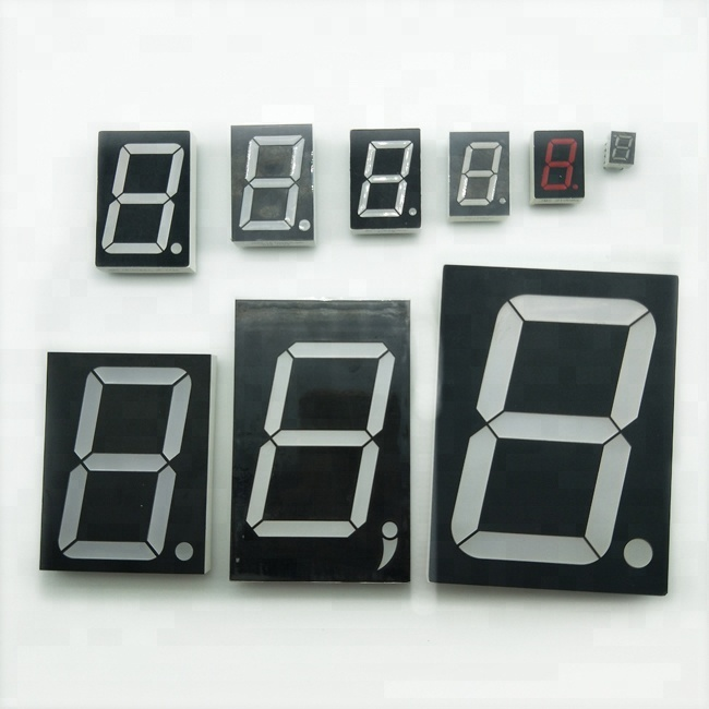 1.8/2.3/3/4/5/6/8 Inch Small Large Digital Clock Red 7 Segment LED Display