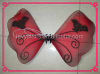 Red kids angle party wings cheap childs plastic wings
