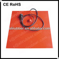 Customize Silicone Heating Pad/Mat/Heater 12V 24V 26V 48V 110V 120V 220V 230V 240V 380V