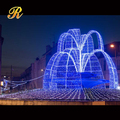Big LED light fountain christmas decoration outdoor