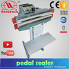 impulse pedal sealing machine with cutter and seal-cut round wire