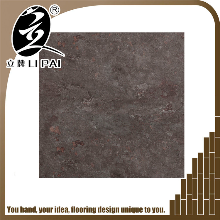 Super-strong wear resistant stone pattern vinyl flooring
