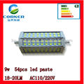 hot sell 5050 lights R7S SMD new arrival 54 beads