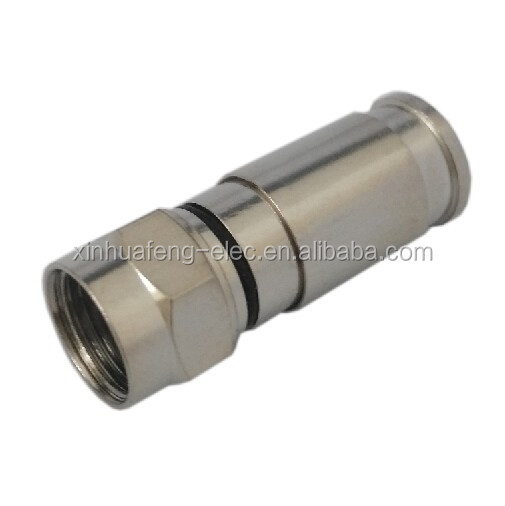 RF Application RG6 RG59 compression F connector