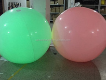 party concert led lighting balloon inflatable for decorating, inflatable balloon with LED lights