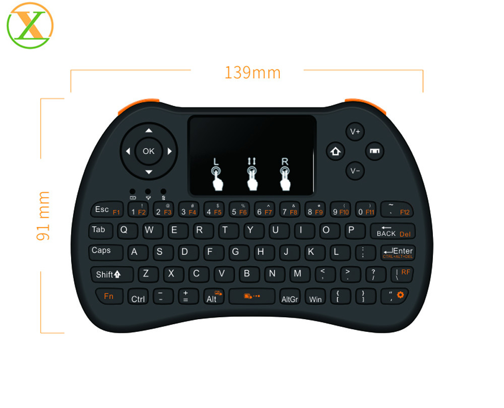 H9 keyboard Mini Wireless Keyboard 2.4G Universal Remote Control