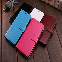 Mobile phone leather phone case for apple and android cell phone VIVO Y31