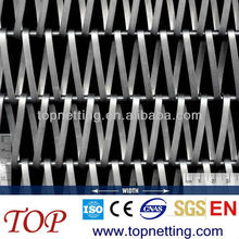 Chian belt mesh decorative mesh screen for building facades