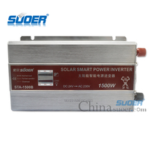 Suoer 1500w DC 24V to AC 220V Modified Sine Wave Solar Power Inverter
