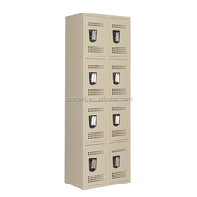 simple design metal 12 doors shoes locker use for puplic place,key box locker for shoes