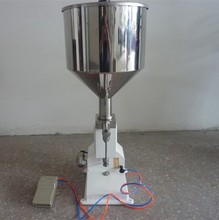manual cream cheese filling machine for cream/lotion/paste/sauce material