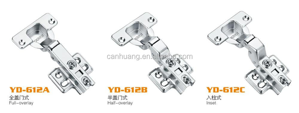 2017 Iron Cabinet Hydraulic Hinges, Clip On Soft Closing Furniture Hinge,self closing hinge